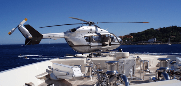 Eurocopter EC145 For Sale at EBACE Expo, Geneva.