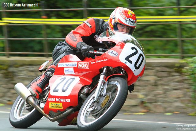 Classic Motorcycle Racing in the Isle of Man.