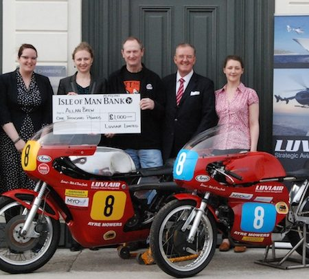 Allan Brew classic motorbikes and the Isle of Man TT races.