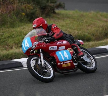 Allan Brew Isle of Man Classic Bikes in 2013.