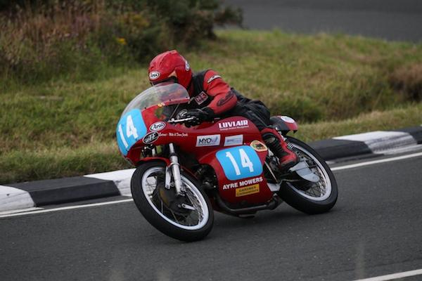 Update from Allan Brew at The Skerries 2014 Classic Motorbike Run.