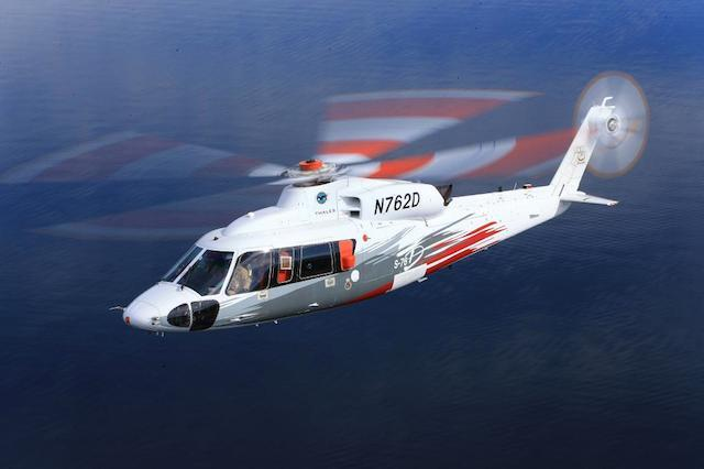 Sikorsky S-76D VIP Executive Helicopter. Review.