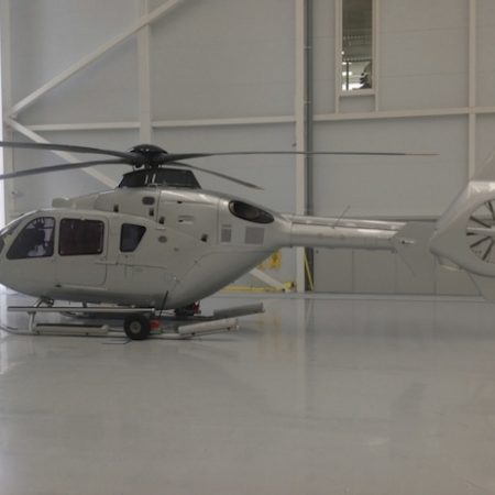 EC135 exterior paintwork livery