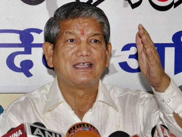 Chief Minister Harish Rawat fractured his neck when his helicopter encountered rough weather.