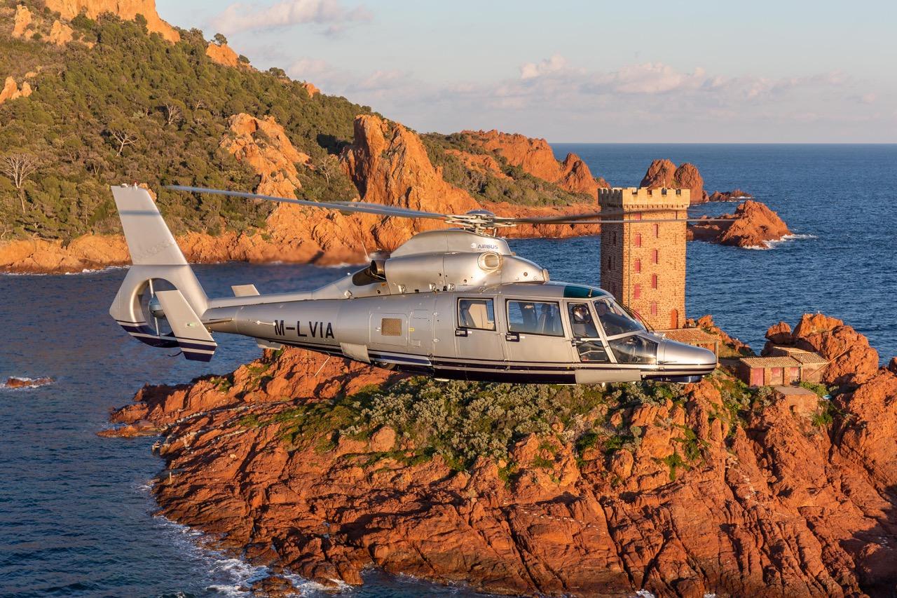 Airbus M-LVIA Eurocopter AS 365 N3