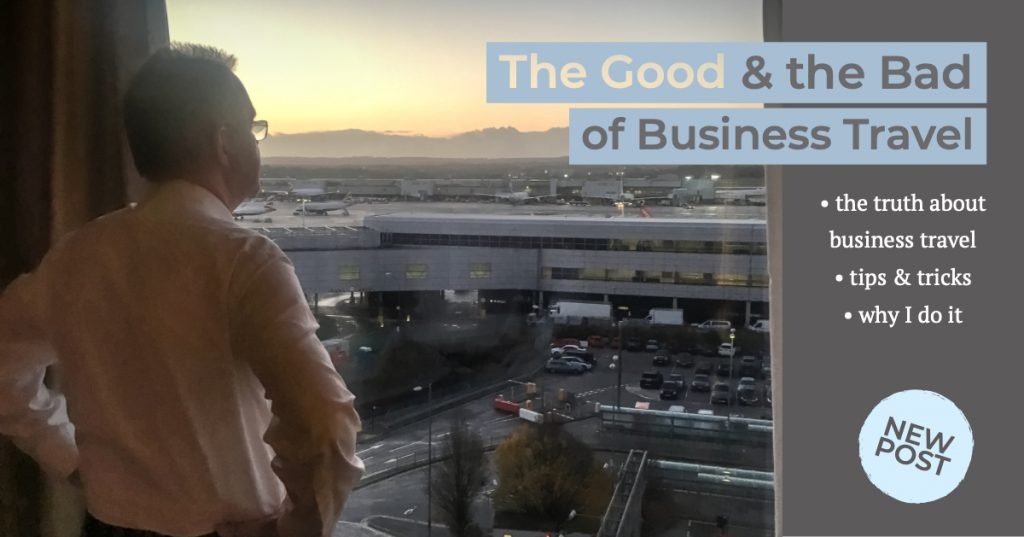 the good and the bad of business travel