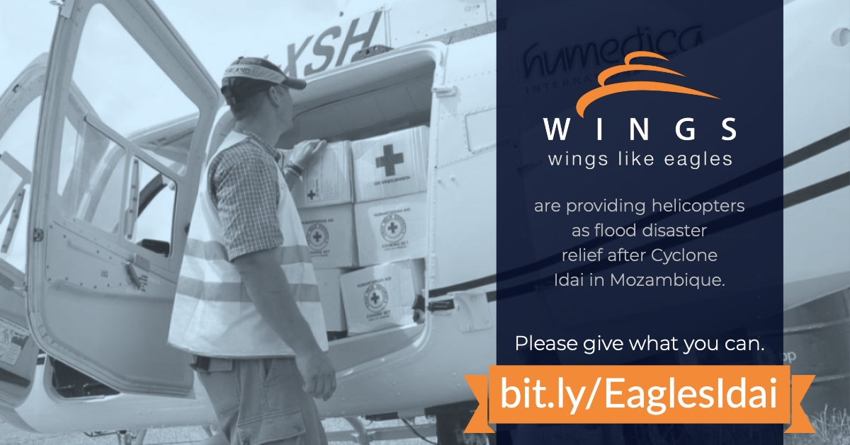 Wings Like Eagles – Cyclone Idai Appeal